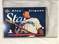 1995 Upper Deck #215 Alex Rodriguez Seattle Mariners Signed AUTO 5x7 COA