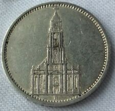 MONNAIE ANCIENNE 5 MARK 1935 A BERLIN  EN ARGENT MASSIF 900%