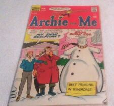 Rare Old Comic Book Archie Bronze Age Archie And Me # 33 1970 15 Cent Comic 5.0