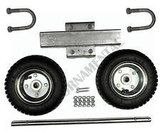Chain Link Fence Dual Pneumatic Tire PT10 Rolling Gate Carrier Wheels Rut Runner