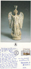 1995 BOTTLE IN SHAPE OF A FIGURE FOUND IN TANAGRA GREECE 5th CENT BC POSTCARD