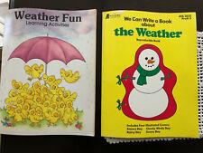 LOT Weather Learning & Writing Science Activities for Preschool & Kindergarten