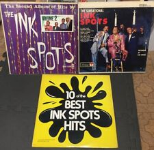 Lot Of (3) LP The Ink Spots Coronet Diplomat Records