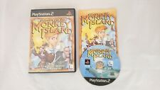 Escape From Monkey Island Sony Playstation 2 PS2 Game Complete