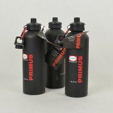(3) PRIMUS 1L 34 oz Powder Coated Aluminum Drinking WATER BOTTLE / Black