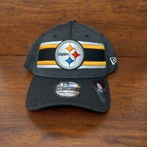 New Pittsburgh Steelers New Era Hat 39Thirty NFL On Field Cap Size Small Medium