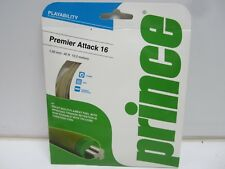 2 SETS: PRINCE PREMIER ATTACK 16 (1.30) NATRL MULTIFILAMENT TENNIS STRING