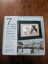 "Pandigital 7"" inch LCD Digital Photo Picture Frame Remote Control Brand New"