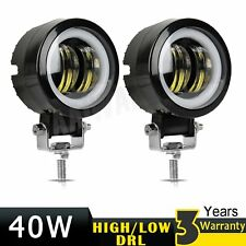 2X 3 Inch LED Work Light Bar Spot Pods Driving Fog Off road 4WD Truck Driving