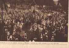 1928 Cambodge, Incinération du Roi Sisowath à Pnom-Penh