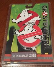 Ghostbusters 1gb USB Key combo Erasers New! Great Gift.
