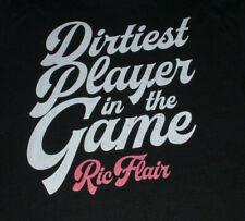 Ric Flair T Shirt XXXL Dirtiest Player NWA Mid Atlantic Wrestling
