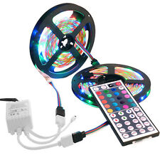 10M 2835 SMD RGB Flexible LED Light Strip 600LEDs +44 Key IR Remote Controller