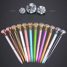 Xmas  Metal Diamond Head Crystal Ball Pen Concert Pen Creative Stationery Gift