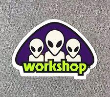 Alien WorkShop AWS Triad Skateboard Sticker 3.25in