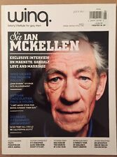 Wing Sir Ian McKellen Summer Swimwear Fashion UK July Aug 2014 gay FREE SHIPPING