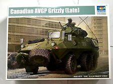 TRUMPETER 1/35 CANADIAN  GRIZZLY AVGP ( LATE VERSION ) MODEL KIT # 01505 NIB