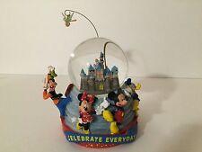 Disney Parks Sleeping Beauty's Castle Fab 5 Mickey Minnie Donald Goofy Pluto