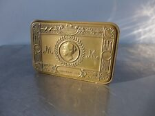 Zigarettendose Princess Mary Medaille CHRISTMAS 1914 Art Nouveau cigarette tin