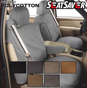 Covercraft Custom SeatSavers Polycotton - Front Row Buckets - 6 Color Options