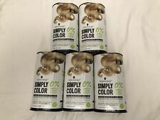 Pack of 5 Schwarzkopf Simply Color Permanent Hair Color Light Blonde 9.0