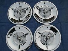 "reproduction 15"" viking 3 bar spinner hubcaps"