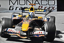 """David Coulthard SIGNED 12x8 Red Bull RB1 """"Star Wars Livery"""" Monaco GP 2005"""
