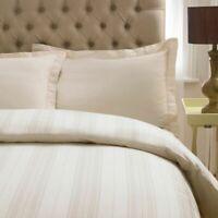 100% Egyptian Cotton Variable Stripe Duvet Cover Set + Pillowcases Bedding Sets