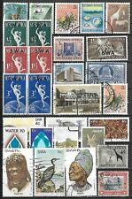 South West Africa Used Selection Including Two Souvenir Sheets $138.60 SCV