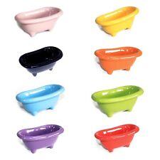 Ceramic Mini Bath Tubs Novelty Storage Bathroom Caddy Accessory Homeware