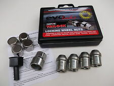 Locking Wheel Nuts with Chrome Covers (AGA171) Fit Alloy & Steel wheels (PE1061)