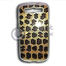CASE FOR SAMSUNG GALAXY S3 LEOPARD BLING RHINESTONE HARD POUCH COVER
