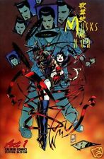 KABUKI MASKS OF THE NOH # 1 QUESADA Cover Fi (Caliber Press, 1996) original CB