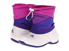 New adidas Kid Winterfun Primaloft K Shoes Boots White/Purple/Pink Girl 4 youth