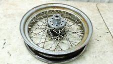 76 Harley Davidson XLH 1000 Sportster Ironhead rear back wheel rim