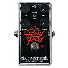 Electro-Harmonix Bass Soul Food Transparent Overdrive Guitar Effects Pedal