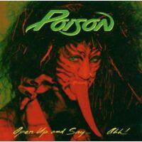 Poison - Open Up & Say Ahh [New CD] Bonus Tracks, Rmst
