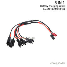 5 IN 1 Battery charging cable charger for JJRC H8C F183 H8D Quadcopter Drone