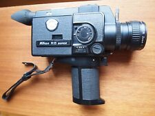Nikon R8 super 8 camera battery tested - fully working