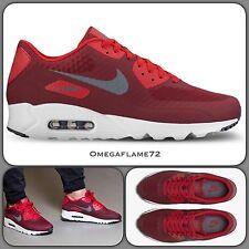 Nike AIR MAX 90 Ultra essenziale OG, 819474-602 Team Rosso UK 8.5 EU 43 US 9.5