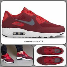 Nike Air Max 90 Ultra Essential OG, 819474-602 Team Red UK 8.5 EU 43 US 9.5