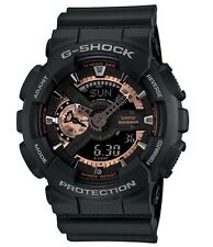Casio G Shock * GA110RG-1A Anadigi Rose Gold & Black XL Gshock Watch COD PayPal