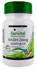 (62,40€/100g) NADH sublingual 20mg von Fairvital - 60 Lutschtabletten