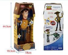 "NEW Disney Toy Story Plush Toy WOODY 15"" Talking Stuffed Doll Figure"
