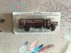 Voiture miniature Camion Berliet GLM 10B Pinardier 1955 Hachette au 1/43