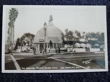 1930's Rppc The Original Brown Derby Cafe in Los Angeles, Ca California Pc
