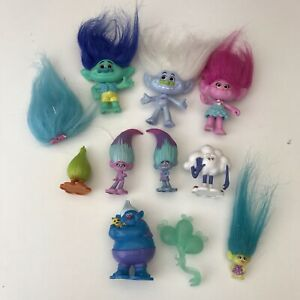 Trolls Mixture small Bundle  Movie  Action Figures  Doll Toy