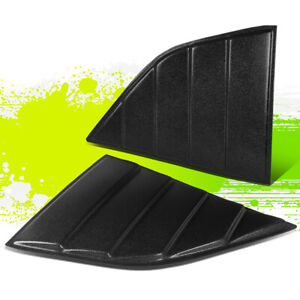 FOR 08-19 DODGE CHALLENGER SIDE QUARTER WINDOW SCOOP LOUVERS SUN SHADE 16 17 18