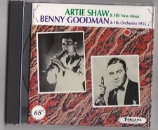 Artie Shaw + Benny Goodman - CD Jazz 23 titres - TB état - SWING