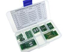 35pcs 7Values SOP 8,10,14,16,20,24,28 to DIP PCB + 15pcs 1X40P Pin Header D011